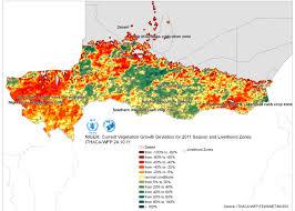 Sahel Desert Map Maps Niger Ithaca