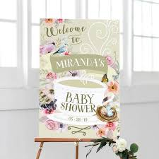 baby shower signs baby shower welcome signs baby shower decorations by kaspi party