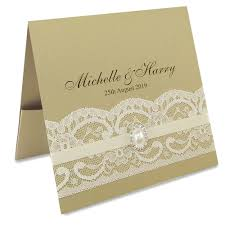 pocket fold vintage lace flat front pocketfold invitation wedding invites