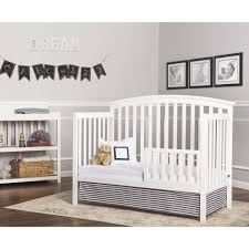 Toddler Bedding For Convertible Cribs by Dream On Me Universal Convertible Crib Toddler Guard Rail White