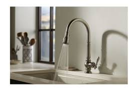 Kohler Kitchen Faucets Canada by Faucet Com K 99259 Sn In Vibrant Polished Nickel By Kohler