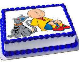 caillou birthday cake caillou cake topper etsy