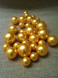 pearl vase fillers gold pearls for floating pearl centerpieces jumbo pearl vase