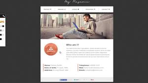 Cv Website by Resume Responsive Bootstrap Cv Resume Youtube