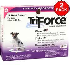 triforce flea u0026 tick for dogs u0026 cats