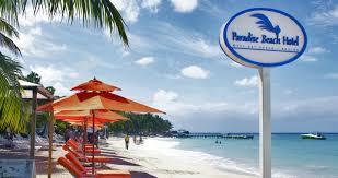 paradise beach hotel west bay beach roatan honduras