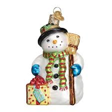 snowman ornament world