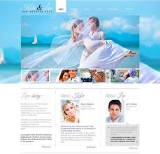 best wedding invitation websites 30 wedding html5 website templates