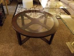 moving sale wood glass coffee table furniture in rochester mn