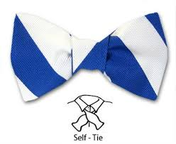 white and blue bows logreek specialties