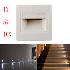 hall and stairs lighting 1 3 5 10 x led footlight wall recessed stair light hall corner step