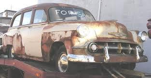 1953 corvette wagon chevy wagon