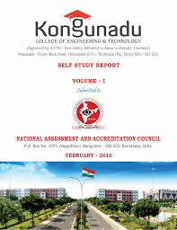 ssr cycle 1 kongunadu college of engineering and technology