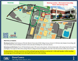fau boca map ces logistics florida atlantic center for