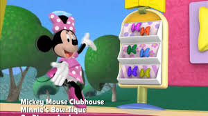 minnie s bowtique minnie s bow tique mickey mouse clubhouse disney