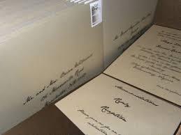 Wedding Envelopes How Did You Print Your Wedding Invitation Envelopes Weddingbee