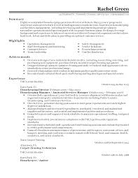 100 service letter for housekeeping create my cover letter