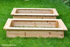 building a vegetable garden box how to make a garden box build