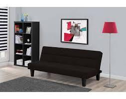 futon beautiful futon living room set glorious black microfiber