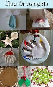 handprint ornament diy ornament child and gift
