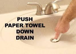 How To Clean Out Bathroom Sink Drain - the 25 best clean sink drains ideas on pinterest diy drain