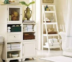 amazing bathroom ideas bathroom bathroom decor ideas use ladder shelves for storage