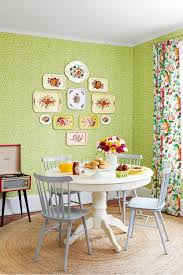sage green and purple dining room house design ideas