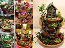 broken pot fairy garden ideas pictures photos and images for