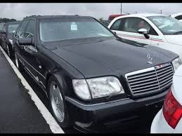 mercedes auctions mercedes s600l 7 0 amg japanese auctions or buy illiquid