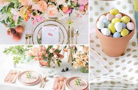 20 Stunning Ideas For Your Easter Table Decorations Glitter and