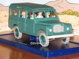 land rover 1970 tintin car 43 land rover 109 sw 1970 u0027s mint model boxed ebay
