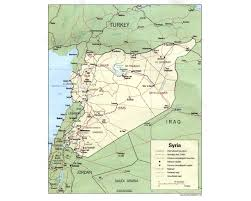 Map Of Syria by Syria U0027s Islamic Movement And The 2011 12 Uprising Origins