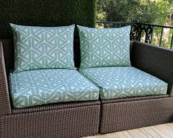 Outdoor Furniture Cushions Covers by Cushion Cover Etsy