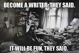 Writing Meme - 10 memes and pics for writers paul stears