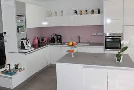 cuisine blanche brillante cuisine blanche brillante maison design heskal blanc brillant et