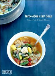 turbo atkins diet soup low carb u0026 paleo