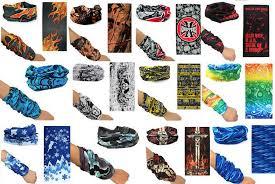 bandana wristband men women scarf scarves multi colour style wristband sport