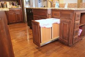 Kitchen Recycling Bins For Cabinets Diy Pull Out Trash And Recyling Bin Hometalk