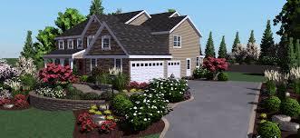 Home Landscaping Design Software Free 3d Garden Design Software Inc Plant U0026 Vedge Encyclopedia For Cd