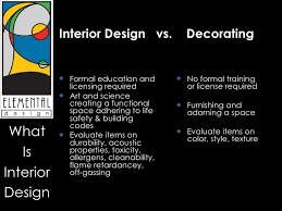 Requirements For Interior Designing How Is An Interior Designer Different Than An Interior Decorator