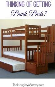 solid wood custom made stairs for queen size bunk or loft bed