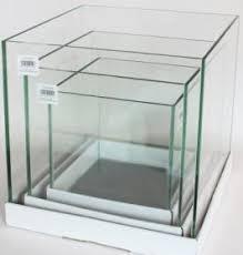 vasche acquario acquari e acquari aea set 3 vasche cubiche in vetro cm 30x30x30