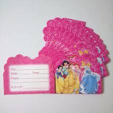Princess Invitation Card Online Buy Wholesale Princess Birthday Card From China Princess