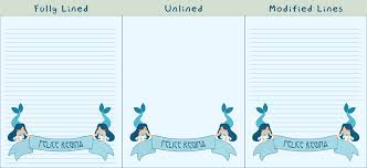 mermaid banner printable stationery kitchycat deviantart