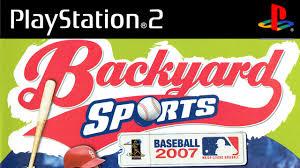 backyard baseball 2007 playstation 2 atari 2006 hd youtube