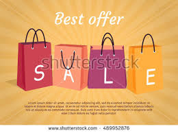 best black friday deals for luggage woman hand holding colorful shopping bag stock vector 679522519