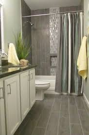 transitional full bathroom with flat panel cabinets stafford