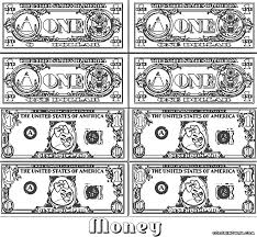 dollar bill coloring book alltoys for
