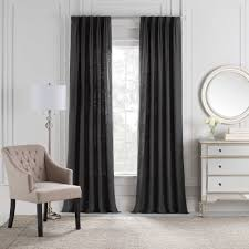cambria malta euro pleat back tab window curtain panel bed bath