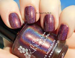 kbshimmer fig get about it nail polish swatch review be happy